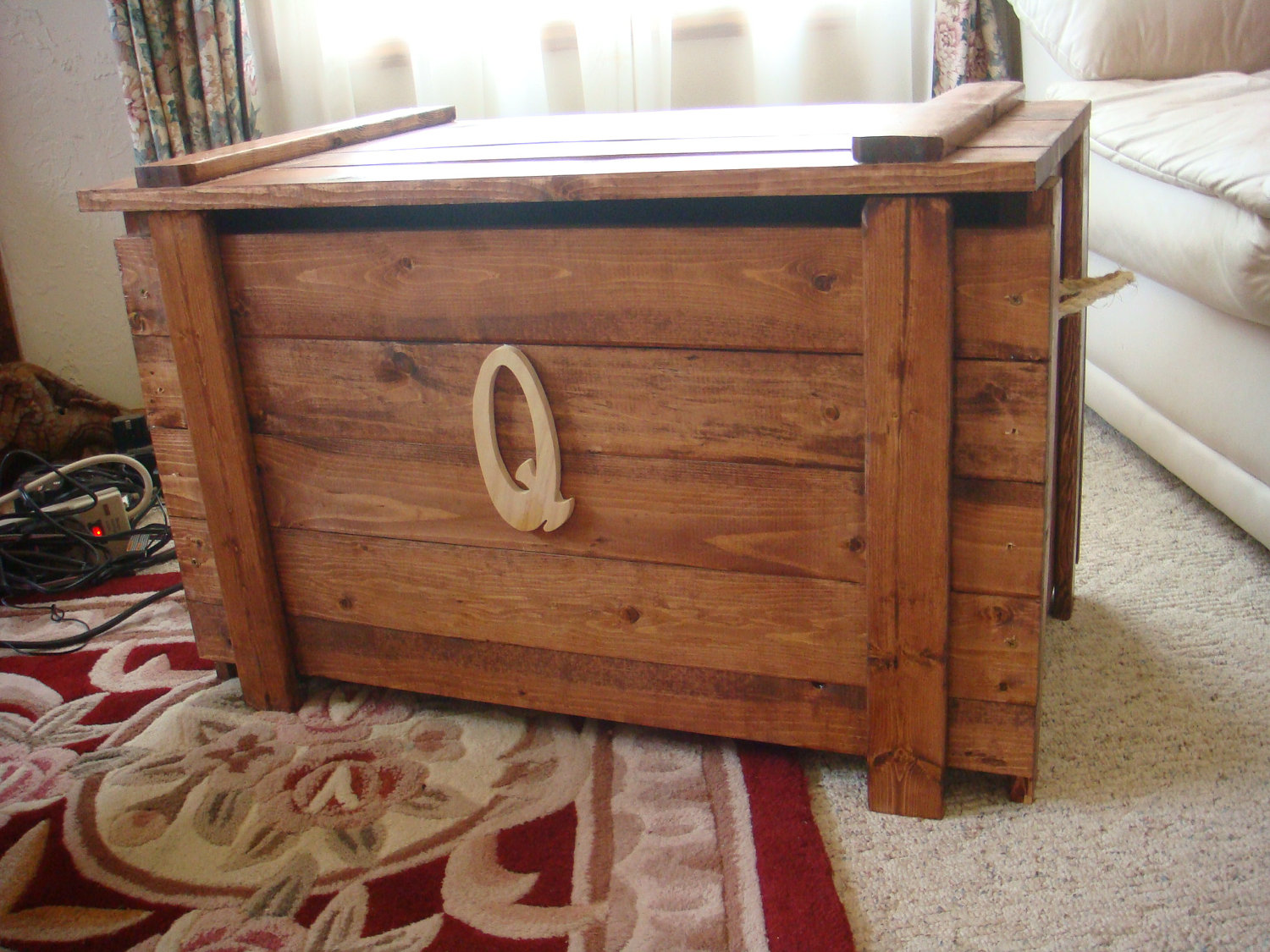 Building a wooden toy box and why they are preferred over