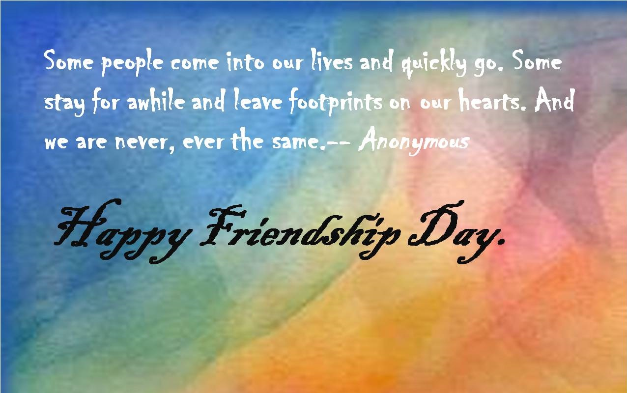 Thought For The Day Quotes Happy Friendship Day Quotes Greetings And Messages