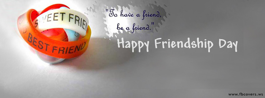 happy friendship day facebook cover images