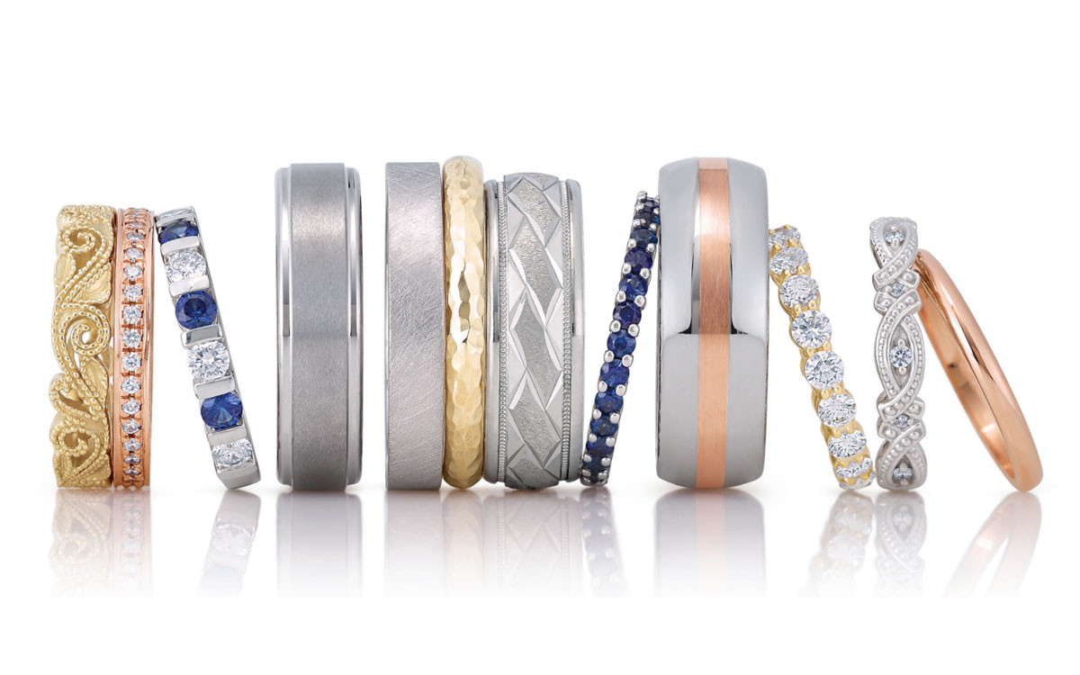 Metals for Men's Wedding Bands