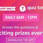 Amazon-Daily-Quiz
